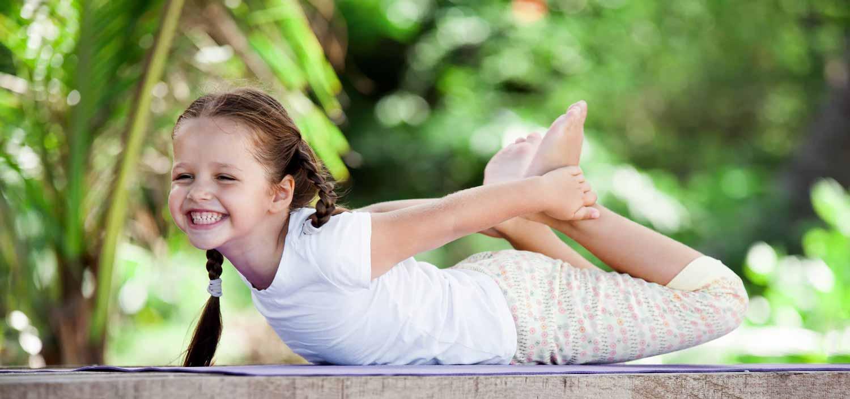 Yogalehrer für Kinder